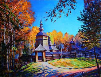 The old church by Gudzart