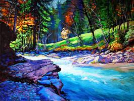 River by Gudzart