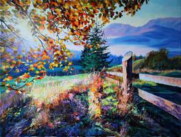 Sunny morning by Gudzart