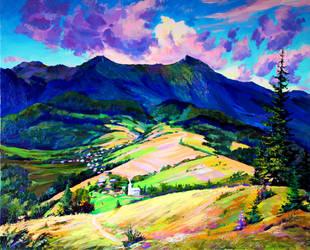 Mount Picui by Gudzart