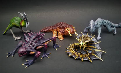 Creature Collection by BryrePatch