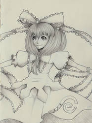 Hina Kagiyama by AmeOfTheSEA