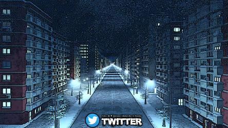 ::: Snowy Streets (Artwork) ::: by SheiCarson