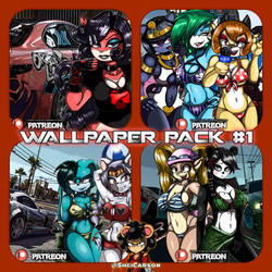 ::: Wallpaper Pack #1 (Patreon) ::: by SheiCarson