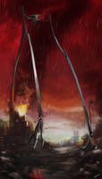 War of the Worlds tripod by Tysho