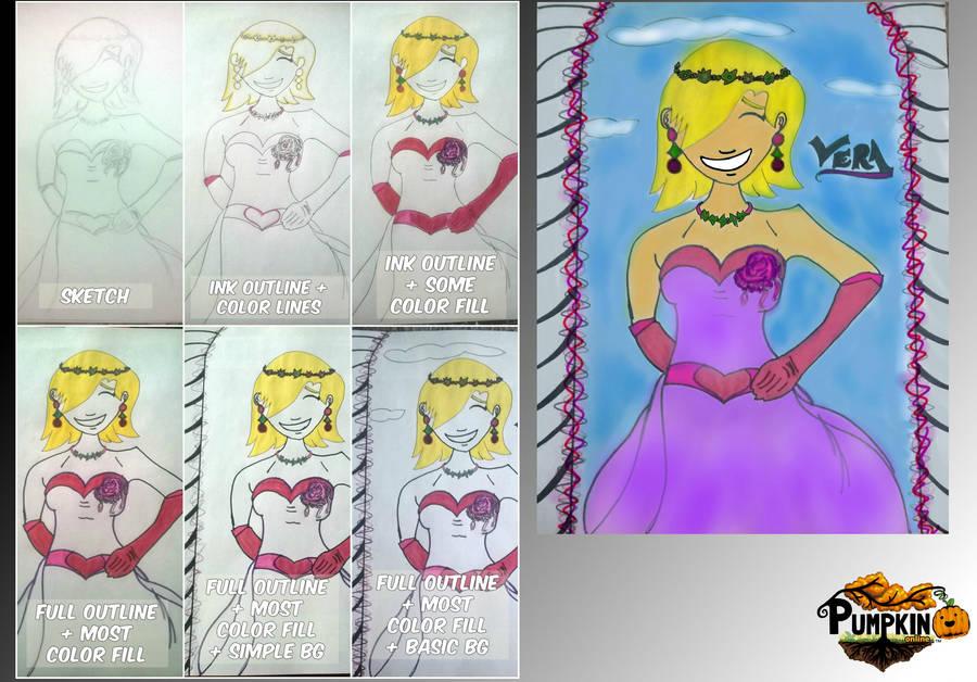 Fan Art of Vera from Pumpkin Online! by tarajadestone