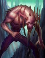 monster fella by johnderekmurphy