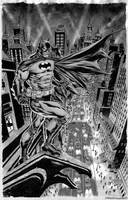 Batman Over Gotham by IbraimRoberson