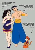 Halloween - Miroku and Sango by QueenOfTheCute
