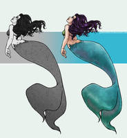 mermaidx2 by QueenOfTheCute