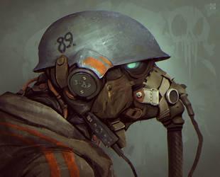 Helmet by DeadSlug