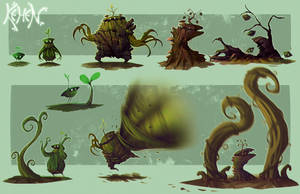 KEHEN - chara concept by DeadSlug