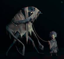 His friend by DeadSlug