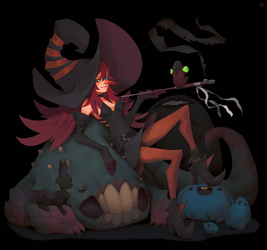 The witch of beasts by DeadSlug
