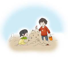 Sand Toko Week Day 2 by marauderfan