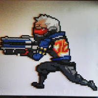 Soldier 76 Overwatch by Sulley45635