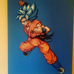 GokuSSBlue by Sulley45635