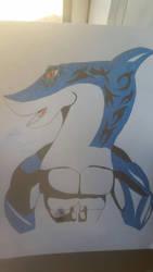 Shark boy X3 by JamesTheSkySeaWing