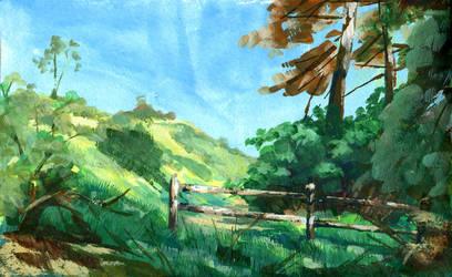 Wildwood Canyon Park Pleinair by Laitma