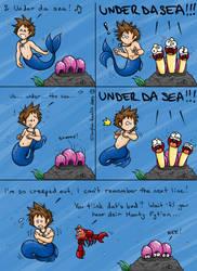 KH: Under Da Sea by Sofa-Cushion