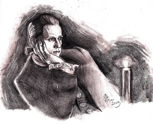 Abe Woodhual by JohnTheWarlord