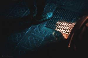 Street, night, lights. by Veistim