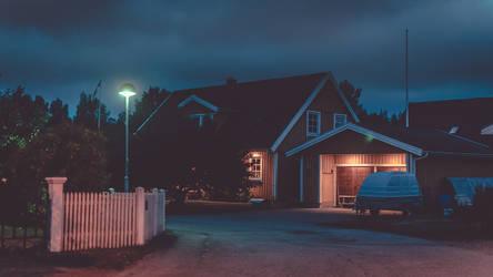 A Quiet Neighbourhood by Veistim