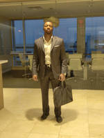 Vaughn Bell Businessman Male Model in Office Space by dm25bell