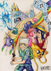 Adventure Time by Kagoe