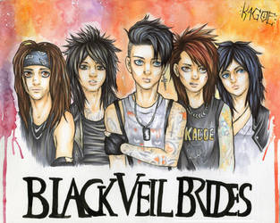 Black Veil Brides by Kagoe