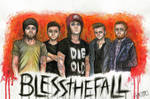 Blessthefall by Kagoe