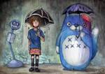 Drop Dead | Totoro by Kagoe