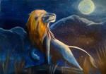 The lion by ELLRarte
