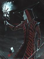The Hermit [palette challenge] by SaraCuervo