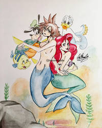 Lost in Atlantica by kirstenmarquisart