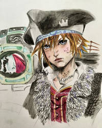 KH3: Pirate Sora by kirstenmarquisart