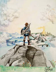 Breath of the Wild by kirstenmarquisart