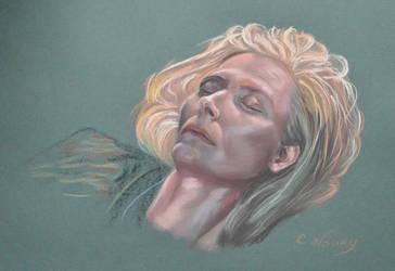Tilda Swinton's Portrait 1 by Andromaque78