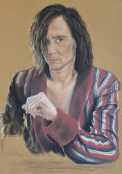 Tom Hiddleston's portrait 4 by Andromaque78
