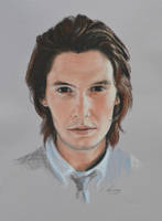 Ben Barnes full portrait 'Heforshe' by Andromaque78