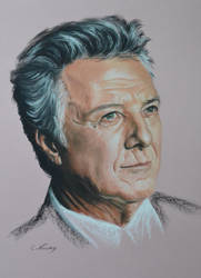 Dustin Hoffman by Andromaque78
