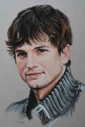 Ashton Kutcher by Andromaque78