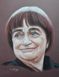 Agnes Varda by Andromaque78