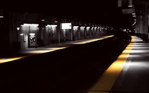 NJ Station at night wallpaper by lowjacker