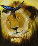 Lion Around by pettyartist