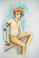 Gary- watercolor by pettyartist