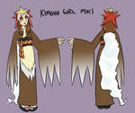 Kimono Girl Miki- Character Sheet by pettyartist