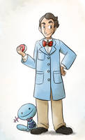 Bill Nye the Poke Guy by pettyartist