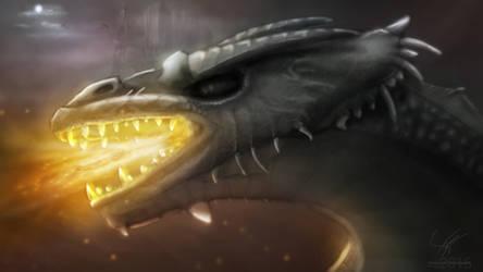 Vengeful Dragon by aniigraphuse