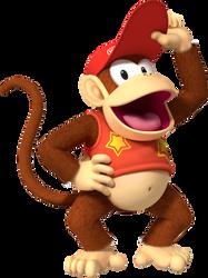 FNaL #4: Diddy Kong by TronicCRASH